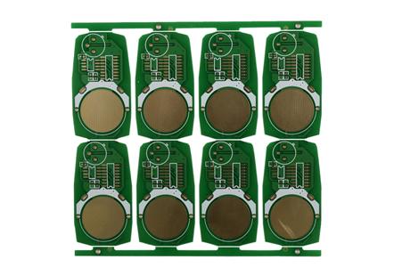 遥控器双面线路板