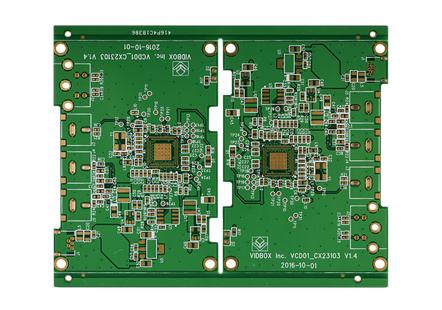 Mac视频转换四层电路板