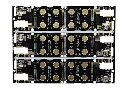 MP3黑油四层线路板