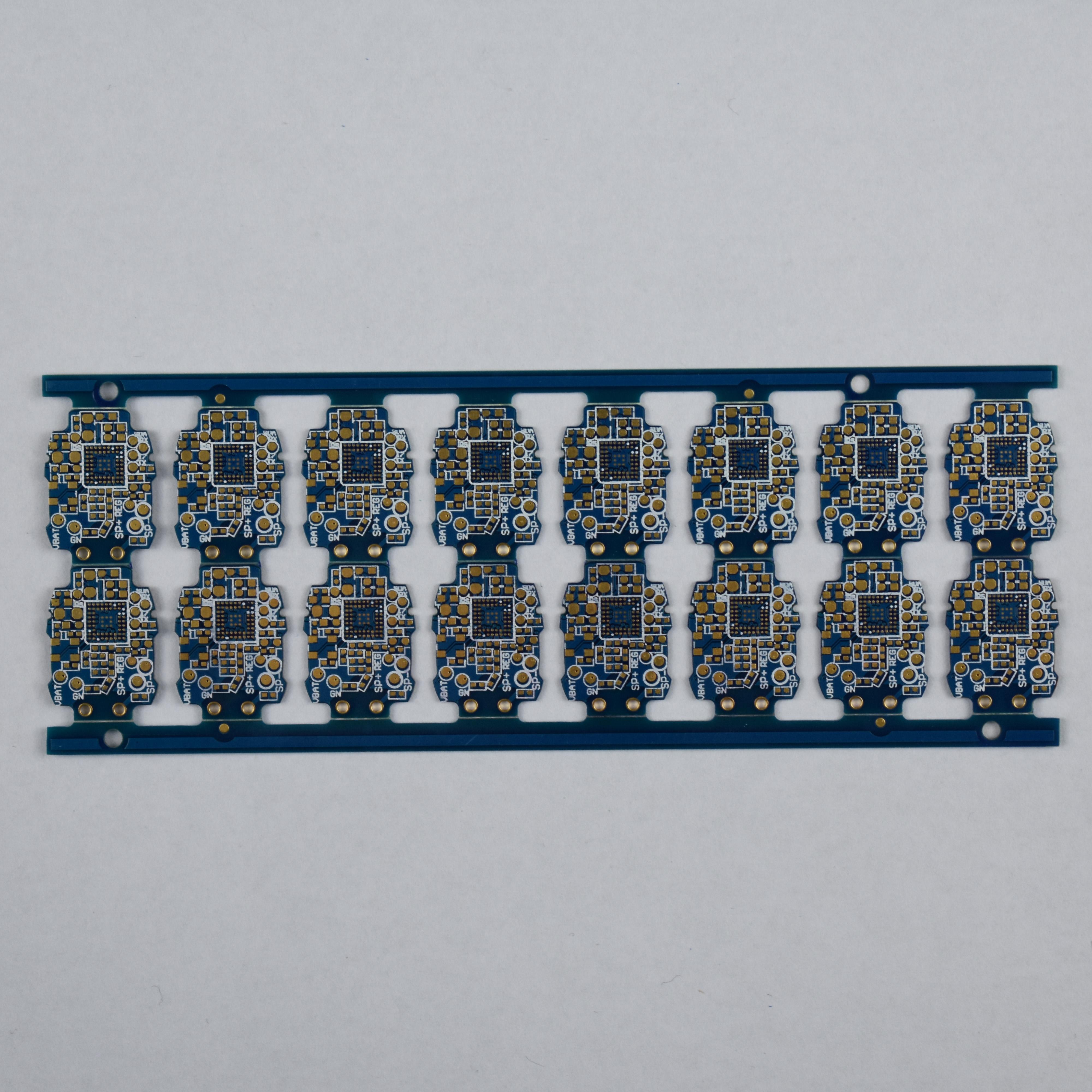 蓝牙耳机四层pcb电路板
